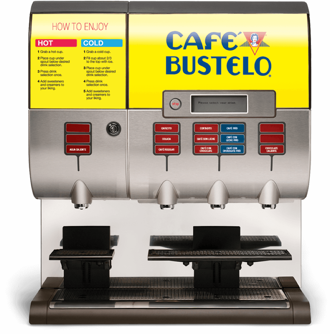 Cafe Bustelo coffee system